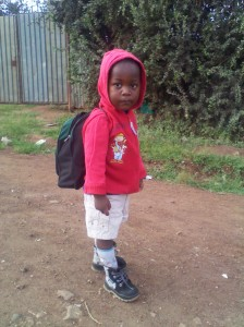 Penjani going to school