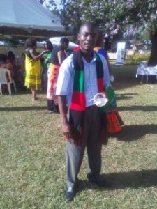 During Independence celebration at the Malawi embassy in Nairobi, 2013