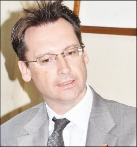 Michael Nevi, UK High Commissioner to Malawi. Photo Credit - Google